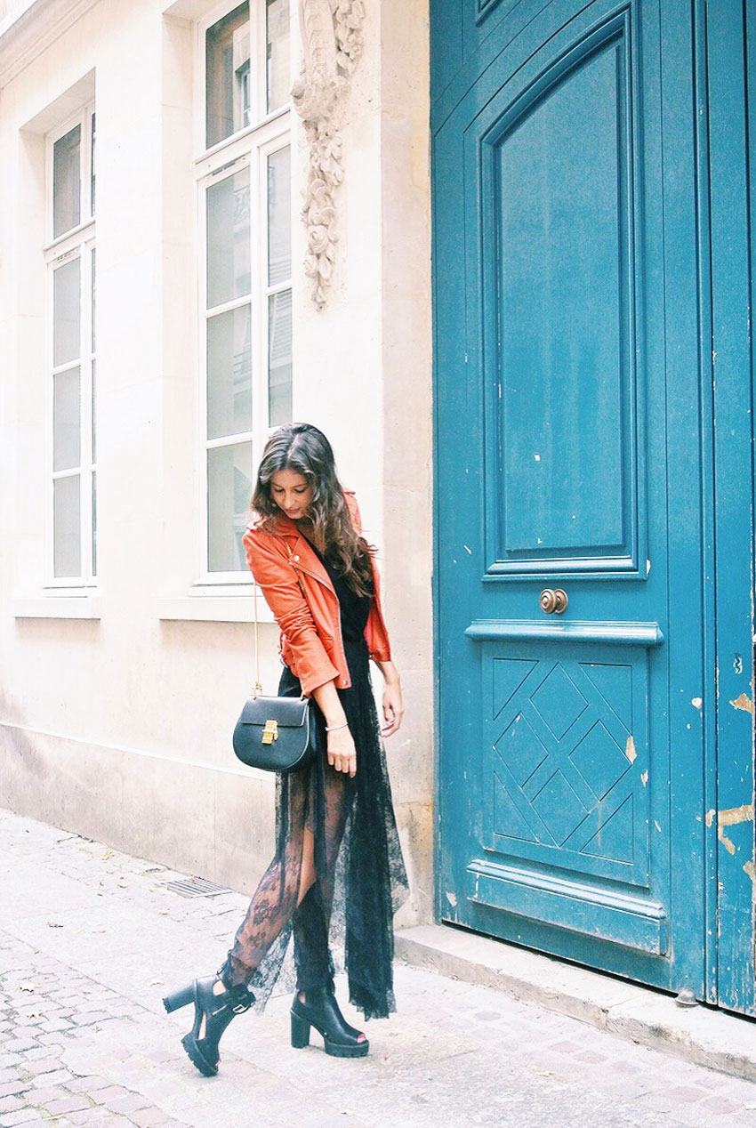 MALIKA_MENARD_BLOG_MODE_MMM_OUTFIT_8_ROBE_MAJE_PERFECTO_ROUGE_BAG_CHLOE